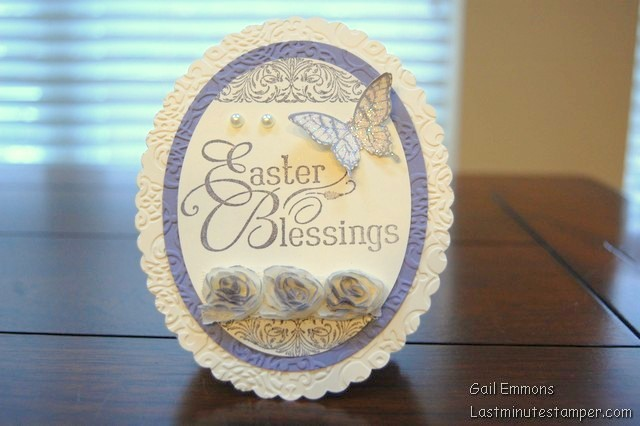 Stampin Up Oval Framelits Easter Card Tutorial – Easter Cards Stampin Up