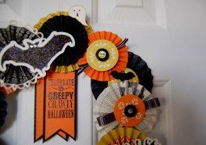 Halloween Wreath Banner