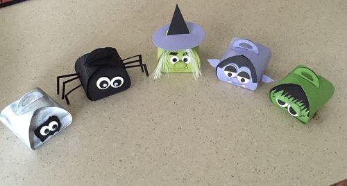 Halloween Curvy Boxes