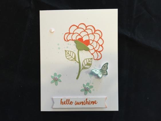Hello Sunshine Alternative Card