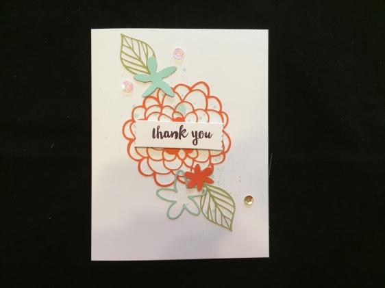 Thank You Original Kit Card
