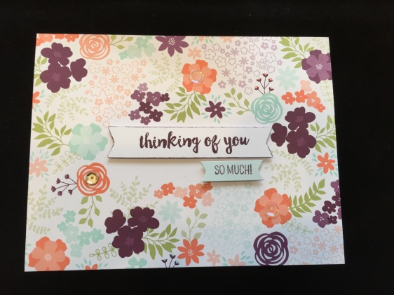Thinking of You Original Kit Card